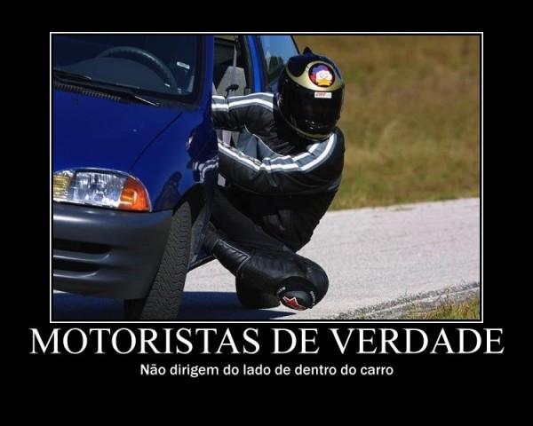 Motoristas de verdade